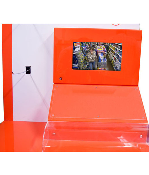 Acrylic Video Counter Top Display
